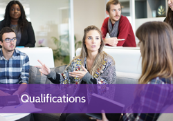 View our Qualifications
