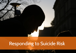 Responding to Suicide Risk