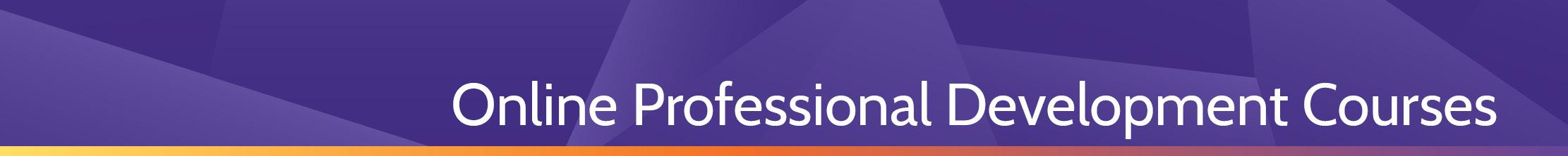 Online Professional Development Courses